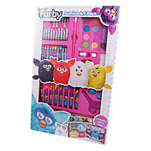 Buy Furby Jumbo Art Set Online at johnlewis.com