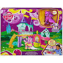 Buy My Little Pony Crystal Empire Crystal Princess Palace Online at johnlewis.com