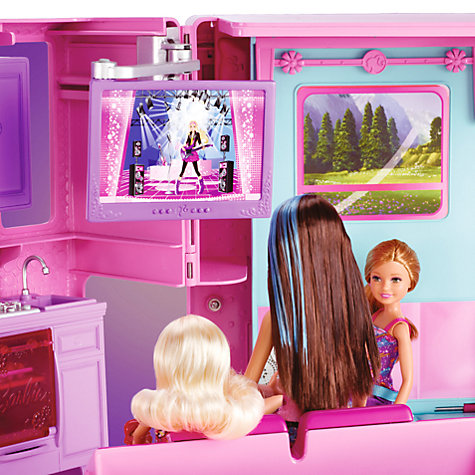 Buy Barbie Deluxe RV Camper Online at johnlewis.com