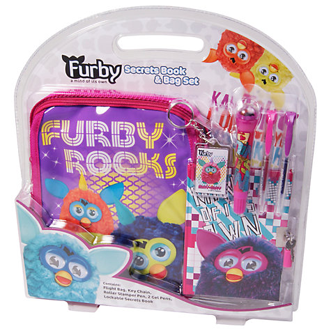 Buy Furby Secrets Book & Bag Set Online at johnlewis.com