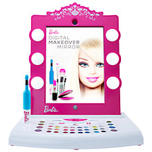 Buy Barbie Digital Makeover Mirror Online at johnlewis.com