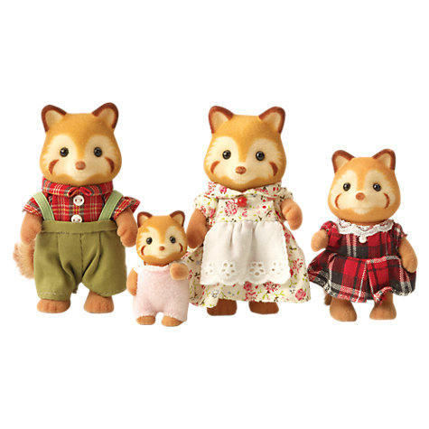 Buy Sylvanian Families Red Panda Family Online at johnlewis.com