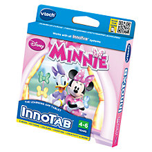 Buy VTech InnoTab Minnie Mouse Software Online at johnlewis.com