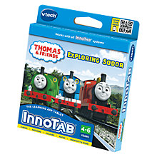 Buy VTech Innotab Thomas and Friends Exploring Sodor Game Online at johnlewis.com
