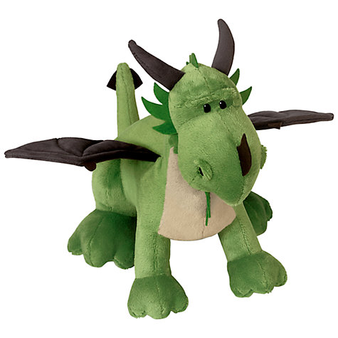 Buy NICI 50cm Green Dragon Soft Toy Online at johnlewis.com