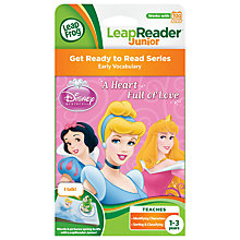 Buy LeapFrog Disney Princess Leapreader Book Online at johnlewis.com