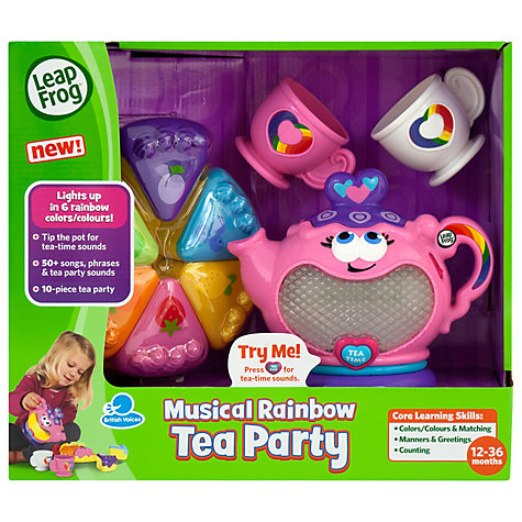 Buy LeapFrog Musical Rainbow Tea Party Online at johnlewis.com