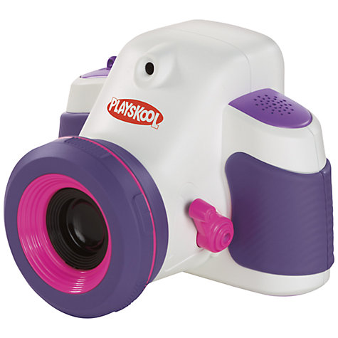 Buy Playskool Showcam Digital Camera and Projector, Purple Online at johnlewis.com