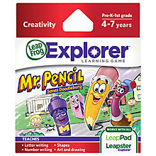 Buy LeapFrog Explorer Creative Games, Assorted Online at johnlewis.com