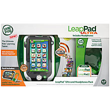 Buy LeapFrog LeapPad Ultra With Child Friendly Headphones, Green Online at johnlewis.com