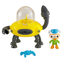 Buy Octonauts Gup D Crab Mode, Assorted Online at johnlewis.com