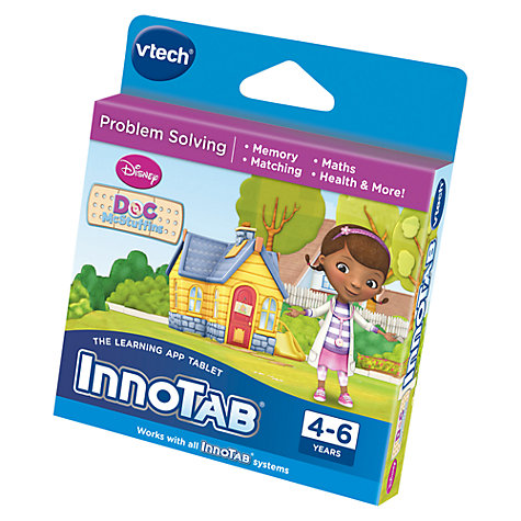 Buy VTech InnoTab Doc McStuffins Software Online at johnlewis.com