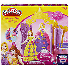Buy Play-Doh Disney Princess Design A Dress Boutique Online at johnlewis.com
