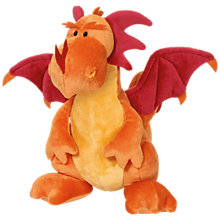 Buy NICI 60cm Standing Orange Dragon Online at johnlewis.com