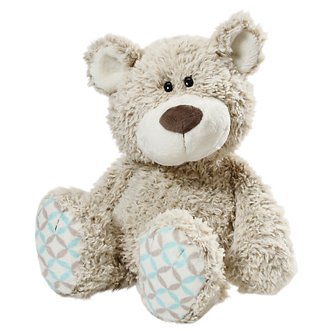 Buy NICI 35cm Classic Grey Bear Soft Toy Online at johnlewis.com