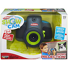 Buy Playskool Show Cam Digital Camera & Projector, Green Online at johnlewis.com