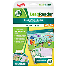 Buy LeapFrog Learn To Write Numbers Leapreader Book Online at johnlewis.com
