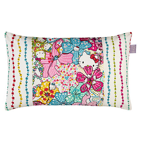 Buy Hello Kitty for Liberty Art Mauvy Motif Cushion Online at johnlewis.com