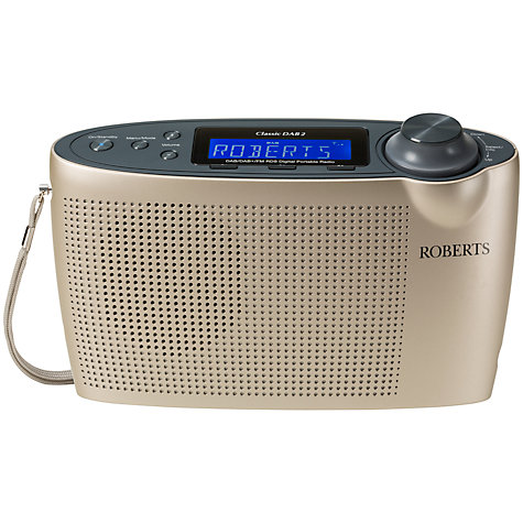 Buy ROBERTS Classic DAB2 Digital Radio Online at johnlewis.com