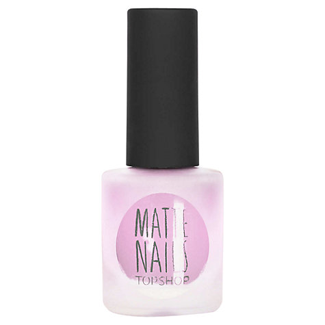Buy TOPSHOP Nails - Matte Pastel Online at johnlewis.com