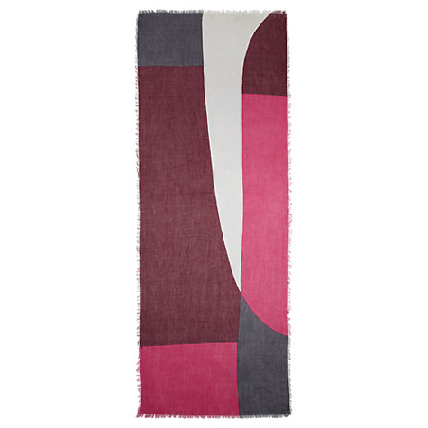 Buy Jigsaw Abstract Print Scarf Online at johnlewis.com
