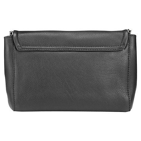 Buy Jigsaw Avington Clutch, Black Online at johnlewis.com