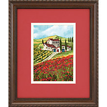 Buy Poppy Fields Cross Stitch Kit Online at johnlewis.com