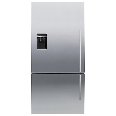 Fisher & Paykel E522BLXFDU4 Fridge Freezer, A+ Energy Rating, 80cm Wide, Stainless Steel