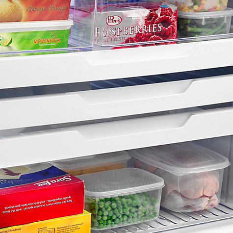 Buy Fisher & Paykel E442BRXFD4 Fridge Freezer, A+ Energy Rating, 68cm Wide, Stainless Steel Online at johnlewis.com