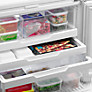 Buy Fisher & Paykel E522BRXU4 Fridge Freezer, A+ Energy Rating, 80cm Wide, Stainless Steel Online at johnlewis.com