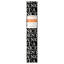 Buy Emma Bridgewater Etch Wrapping Paper, L3m, Black Online at johnlewis.com