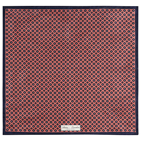 Buy Reiss Rintaro Ditsy Flower Print Pocket Square Online at johnlewis.com