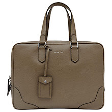 Buy Reiss Leonardo Oversized Briefcase, Whale Grey Online at johnlewis.com