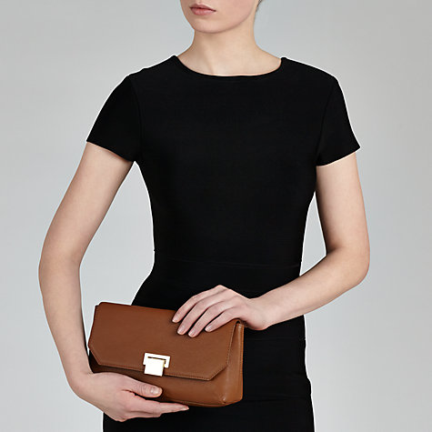 Buy COLLECTION by John Lewis Tina Leather Clutch Bag Online at johnlewis.com