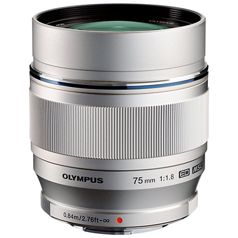 Buy Olympus M.ZUIKO DIGITAL 75mm f/1.8G ED Standard Lens Online at johnlewis.com