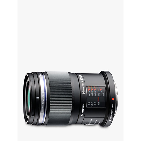 Buy Olympus M.ZUIKO DIGITAL 60mm f/2.8 ED Macro Lens Online at johnlewis.com