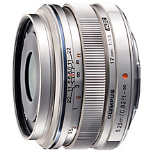 Buy Olympus M.ZUIKO DIGITAL 17mm f/1.8 Pancake Lens Online at johnlewis.com