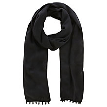 Buy Coast Theresa Teardrop Wrap, Black Online at johnlewis.com
