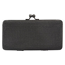 Buy Alexon Box Clutch Handbag, Gunmetal Online at johnlewis.com