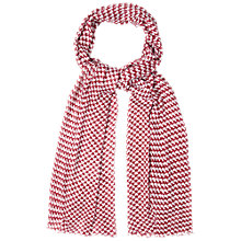 Buy White Stuff All Time Love Scarf, Cherry Online at johnlewis.com