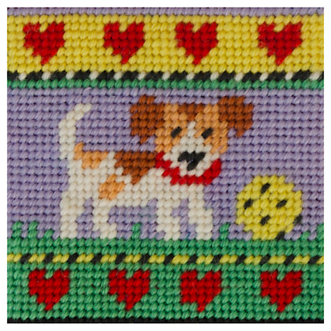 Buy Jolly Red Puppy Embroidery Kit Online at johnlewis.com