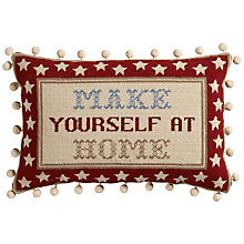 Buy The Historical Sampler Company Make Yourself At Home Tapestry Kit Online at johnlewis.com