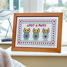 Buy The Historical Sampler Company What A Hoot Sampler Online at johnlewis.com