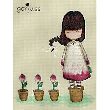 Buy Bothy Threads Gorjuss The Last Rose Cross Stitch Kit Online at johnlewis.com