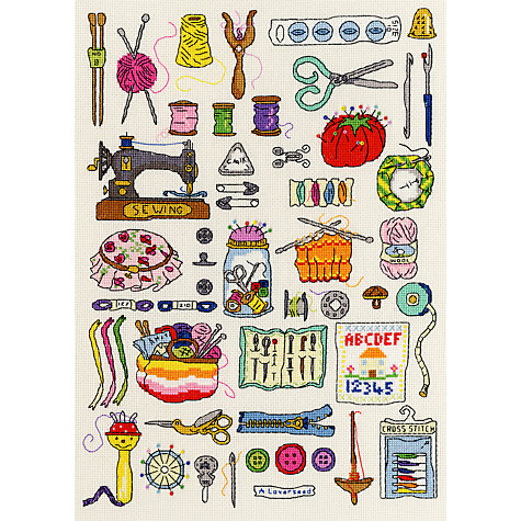 Buy Sewing Cross Stitch Kit Online at johnlewis.com