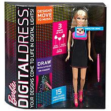 Buy Barbie Digital Dress Doll Online at johnlewis.com