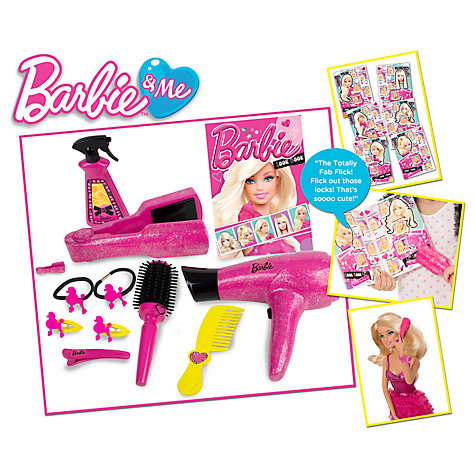 Buy Barbie & Me Hair Stylin' Book Online at johnlewis.com