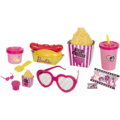 Buy Barbie Movie Theme Set Online at johnlewis.com