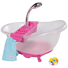 Buy Zapf Baby Born Interactive Bath Tub Online at johnlewis.com
