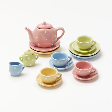 Buy John Lewis 17 Piece Toy Tea Set Online at johnlewis.com